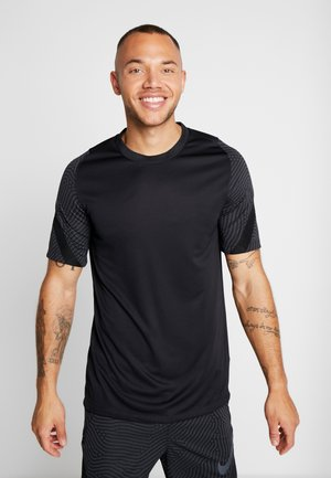 DRY STRIKE - T-shirt med print - black/anthracite