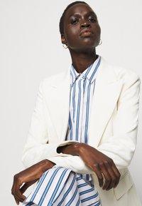 Steffen Schraut - SUMMER DRESS - Shirt dress - white/blue - 3