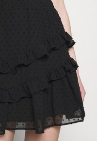 Trendyol - SIYAH - A-line skirt - black - 4