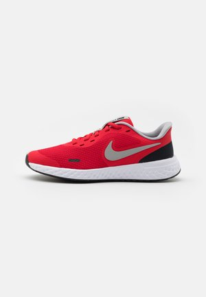 REVOLUTION 5 UNISEX - Neutral running shoes - university red/light smoke grey/black/white
