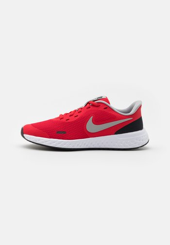 REVOLUTION 5 UNISEX - Neutral running shoes - university red/light smoke grey/black/white
