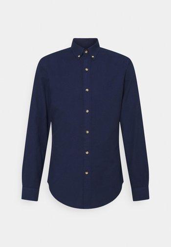 SLIM FIT DOBBY SHIRT - Shirt - dark indigo