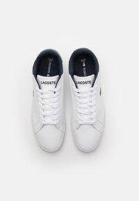 Lacoste - GRADUATE UNISEX - Baskets basses - white/navy - 3