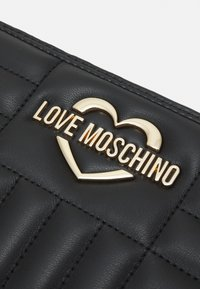 Love Moschino - QUILTED SOFT - Peněženka - nero - 3