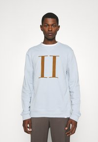 Les Deux - ENCORE LIGHT - Sweatshirt - dust blue/stone brown - 0
