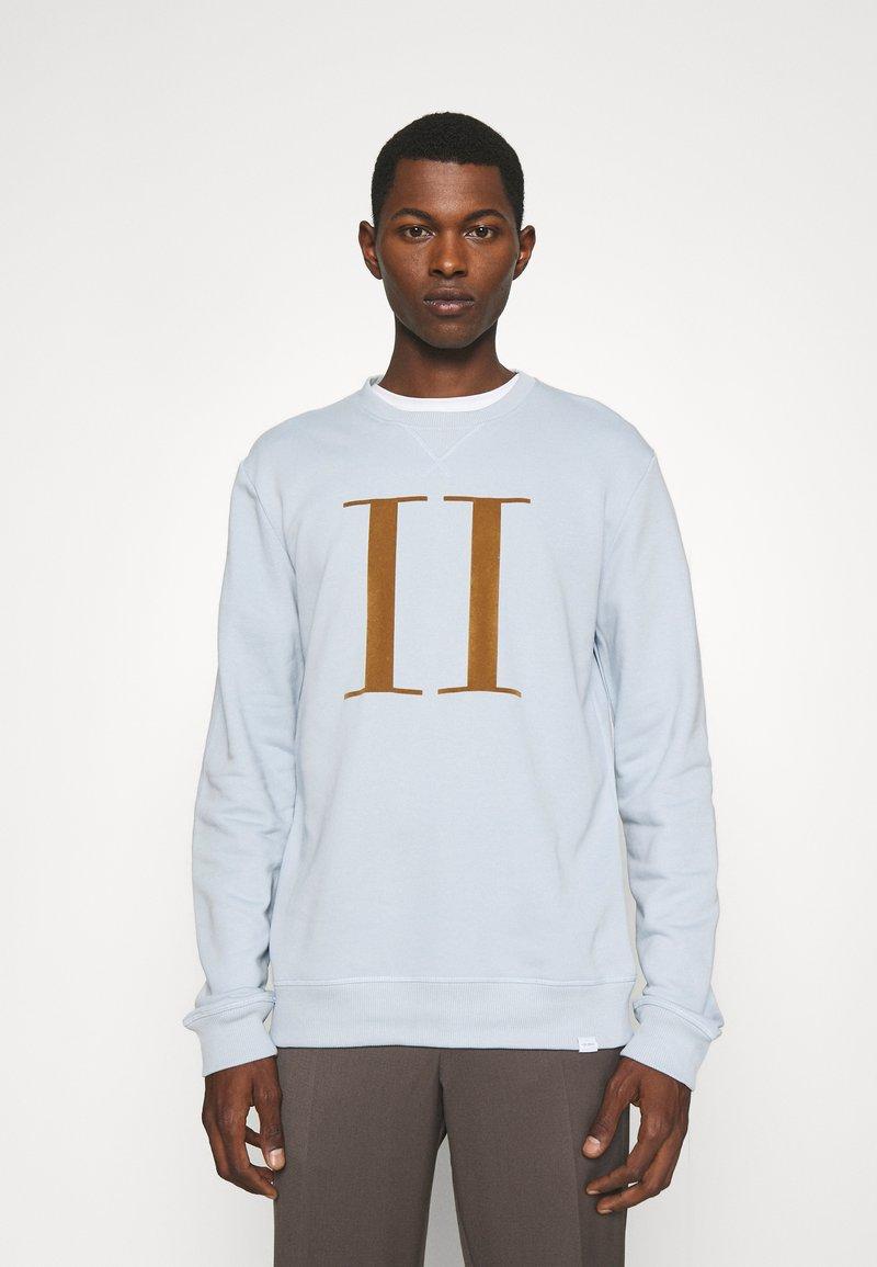 Les Deux - ENCORE LIGHT - Sweatshirt - dust blue/stone brown
