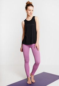 Hey Honey - TANK BREATHE EASY  - Top - black - 1