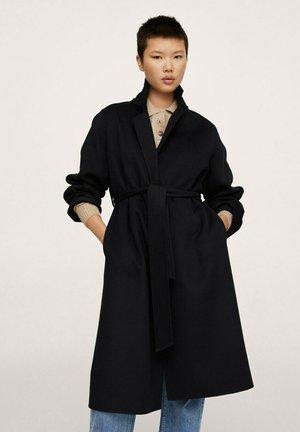 Classic coat - noir