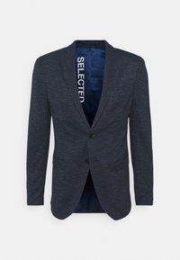 Selected Homme - SLHSLIM CHUCK - Sako - medium blue melange - 3