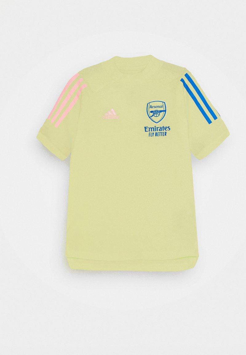 adidas Performance - AFC TEE - Club wear - yellow tint