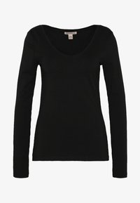 Anna Field Tall - BASIC LONG SLEEVE TOP - Bluzka z długim rękawem - black - 3