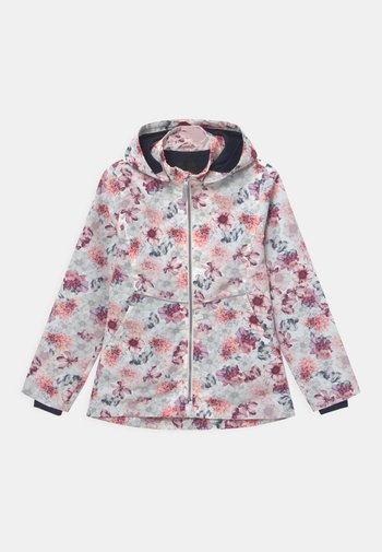 NKFMAXI BLOOM - Light jacket - snow white