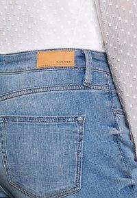 s.Oliver - LANG - Slim fit jeans - middle blue - 5