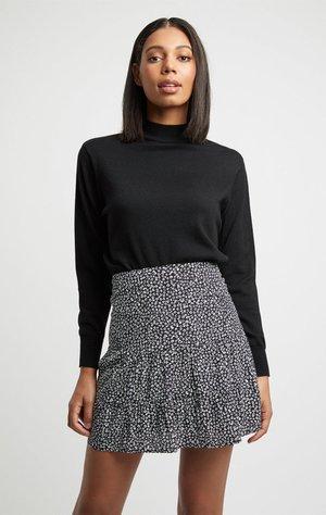 JUPE BRYSON - A-line skirt - z2-black/noir