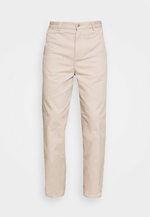 ROSS WIDE TROUSERS - Bukse - beige