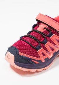 Salomon - XA PRO 3D - Hiking shoes - cerise/acai/bird of paradise - 2