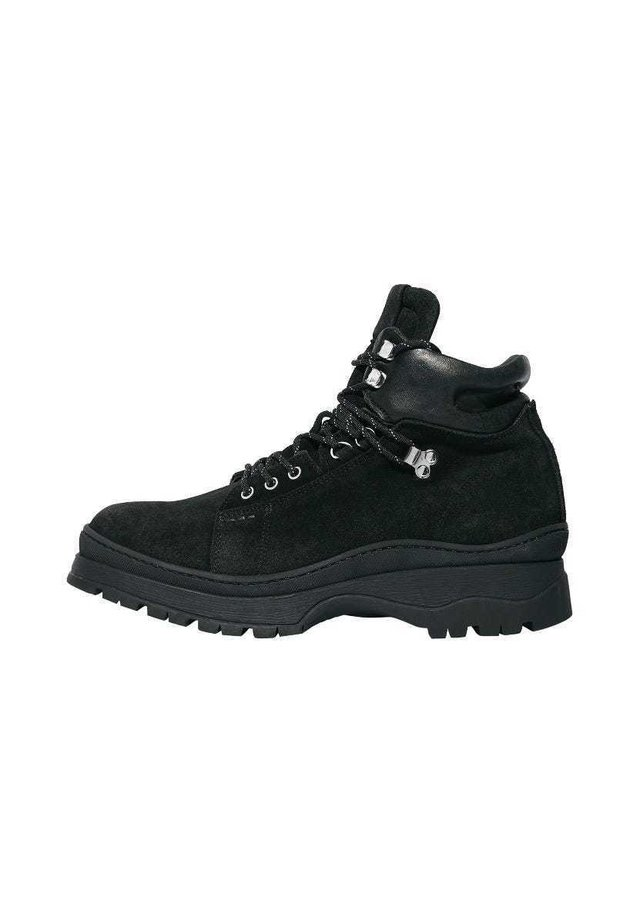 DONTE - Lace-up ankle boots - black