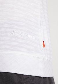 Vaude - SKOMER - T-shirt con stampa - white - 4