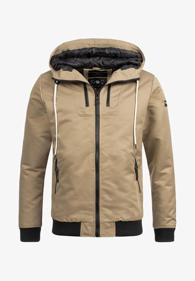 Winter jacket - sandbeige