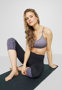 Cotton On Body - WORKOUT YOGA CROP - Sport-bh met light support - ash amethyst - 3