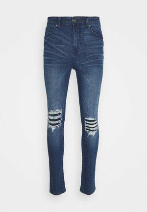 PATCH - Slim fit jeans - blue