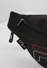 Fila - WAIST BAG SLIM - Bum bag - black - 7