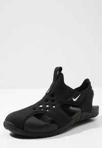 Nike Performance - SUNRAY PROTECT 2 UNISEX - Badslippers - black/white - 2