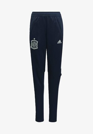 SPAIN TRAINING TRACKSUIT BOTTOMS - Pantalones deportivos - blue
