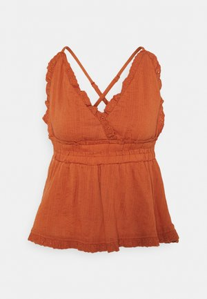 YASFERIDA SINGLET FEST - Blouse - autumn leaf