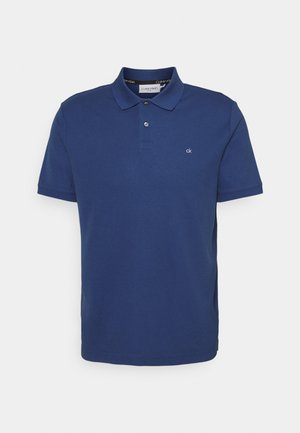REFINED LOGO SLIM FIT - Polo - blue