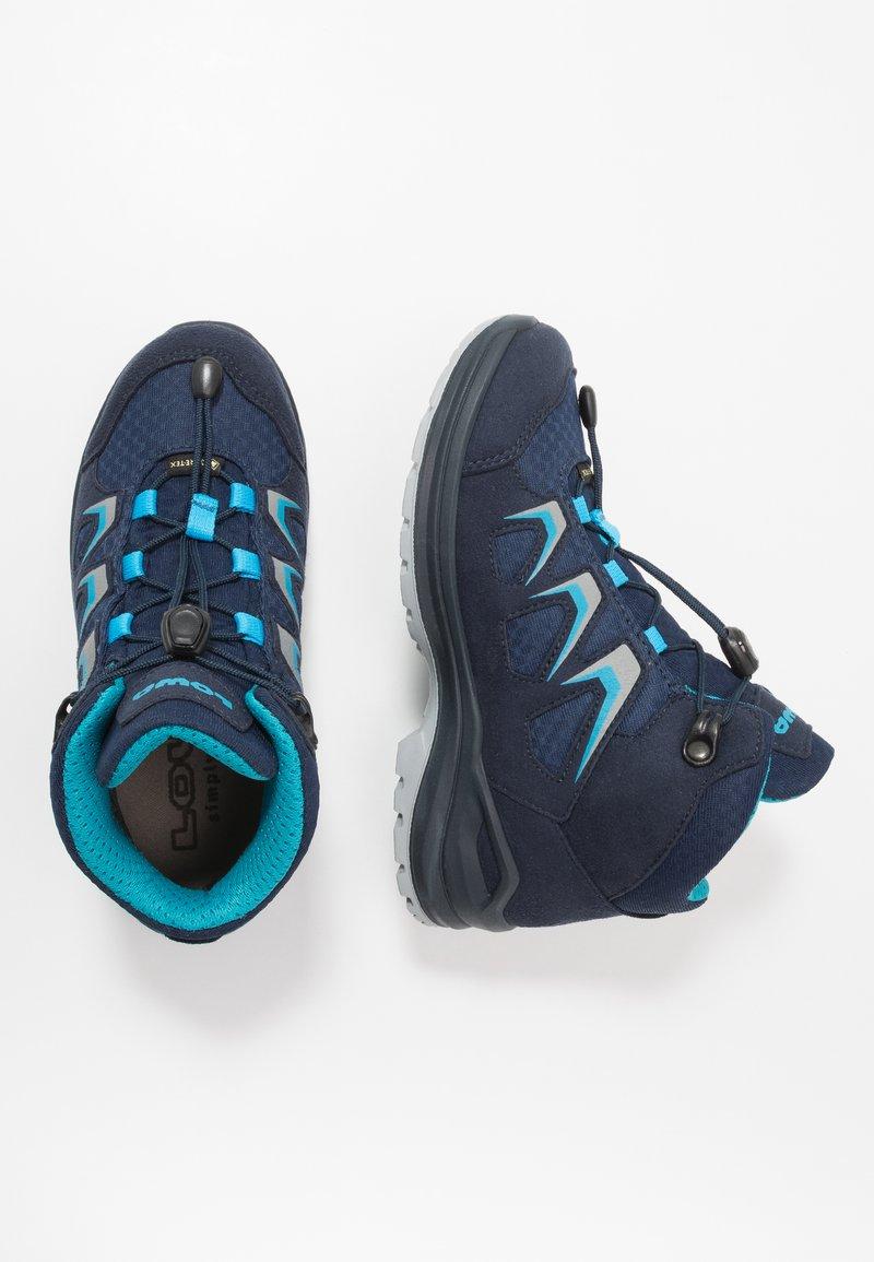 Lowa - INNOX EVO GTX QC JUNIOR UNISEX - Hiking shoes - navy/türkis