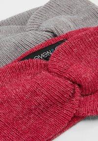 Even&Odd - 2 PACK - Ørevarmere - pink/grey - 5