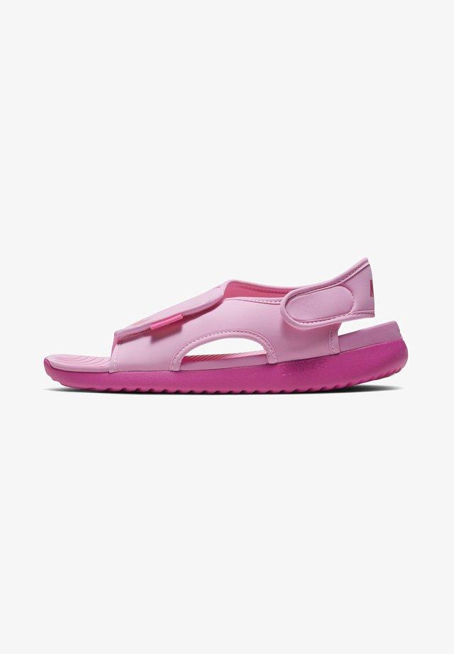 SUNRAY ADJUST 5 UNISEX - Walking sandals - psychic pink/laser fuchsia