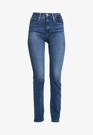 724™ HIGH RISE STRAIGHT - Jeans straight leg - paris storm