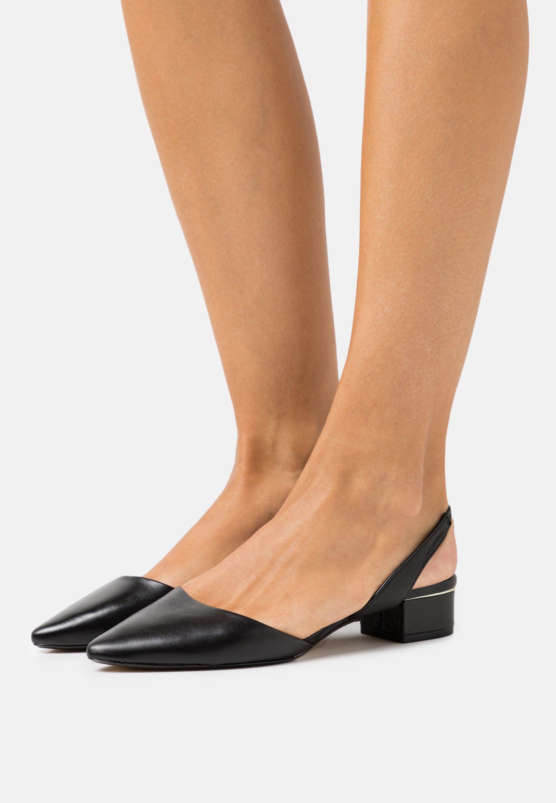 Cheapest Women's Shoes ALDO ANATHANA Ankle strap ballet pumps black 7f45UhPLU