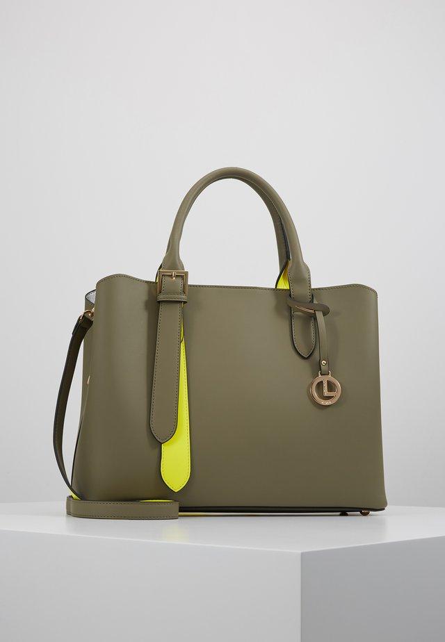 ELUISE - Handbag - khaki