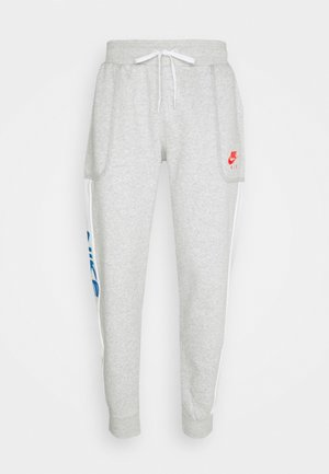 Pantaloni sportivi - grey heather/summit white/infrared