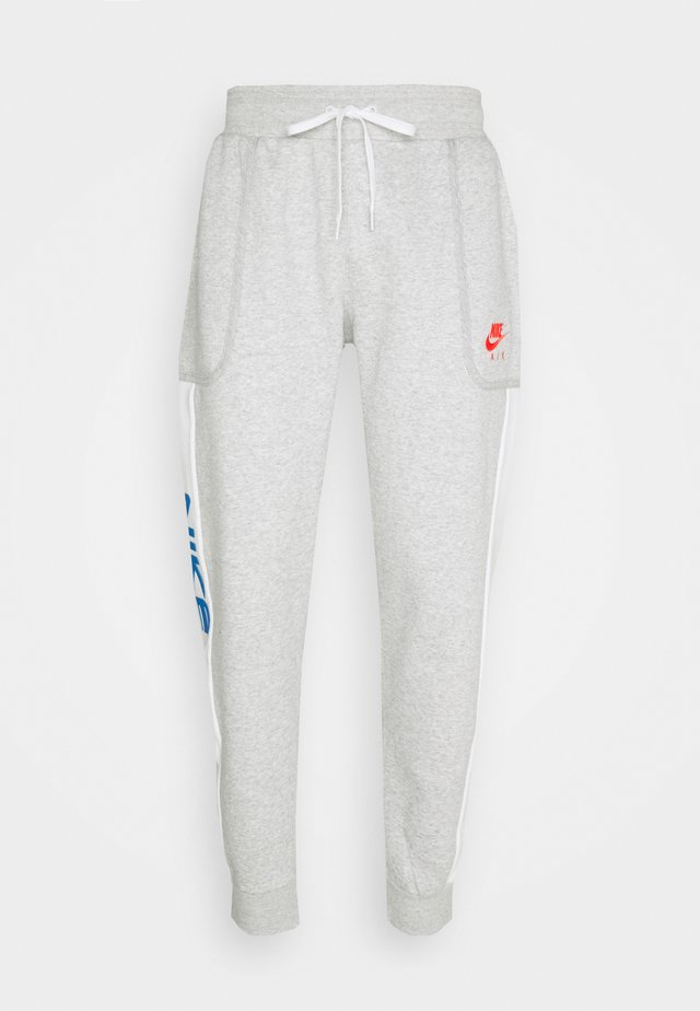 Tracksuit bottoms - grey heather/summit white/infrared