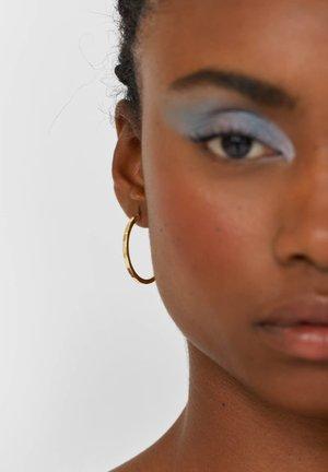 SET MIT 6 FARBIGEN CREOLEN - Earrings - black