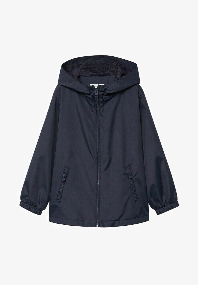 Mango - CHICAGO - Summer jacket - bleu marine foncé