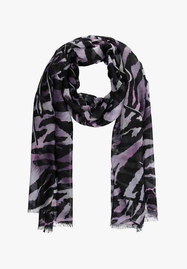 Sjaal - black gemustert
