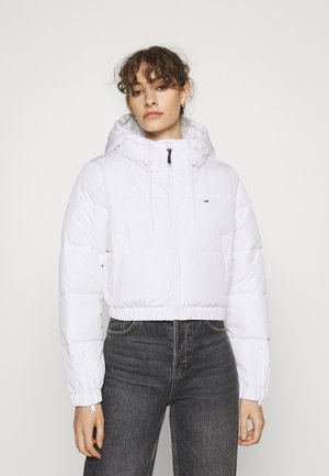 CROPPED PUFFER - Giacca invernale - white