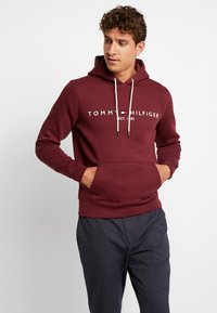 Tommy Hilfiger - LOGO HOODY - Sweat à capuche - red - 0