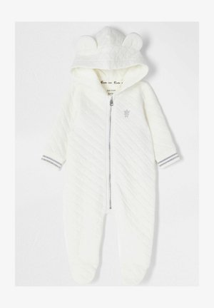 ECRU QUILTED ALL IN ONE - Jumpsuit - cream