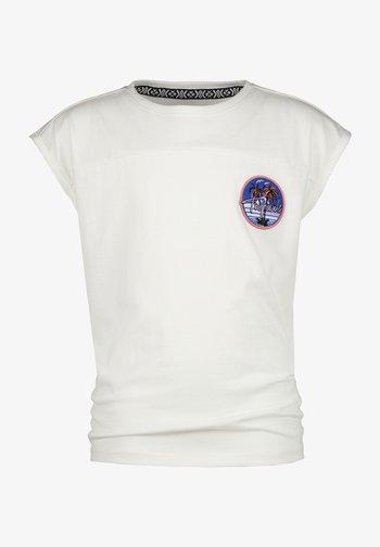 SENNA  - Print T-shirt - real white