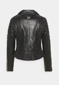 Freaky Nation - COOL BIKER - Leather jacket - black - 1