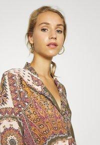 Object - OBJSUN LONG DRESS - Sukienka letnia - burnt olive - 3
