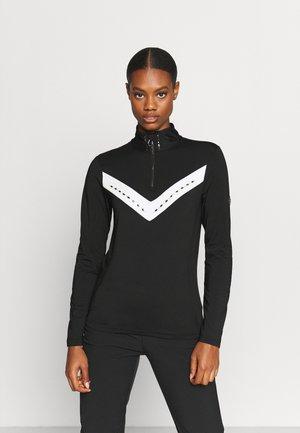BEJEWELII CORE - Long sleeved top - black/white