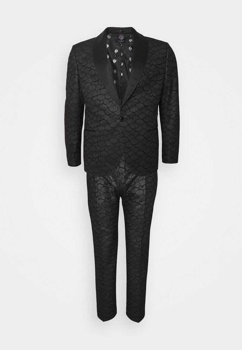 Twisted Tailor - PHONOX SUIT SET - Suit - black