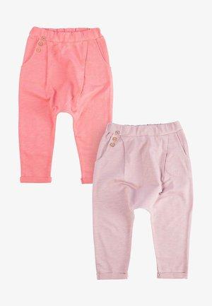 2 PACK - Tracksuit bottoms - light pink